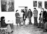 Vernissage of the exhibition of The Group Sanok, 1981