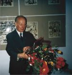 Tadeusz Turkowski (the author). Monographic exhibition of Tadeusz Turkowski in chambers of Sanok Castle, 2000