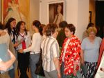 Vernissage of the exhibition of Izabela Rapf-Sławikowska's painting, 2006