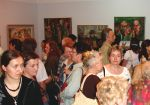 Opening of the exhibition of Krystyna Sieraczyńska's painting in Sanok castle in 2007