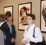 Opening of the exhibition BETWEEN WARHOL AND BEKSIуSKI organized in cooperation with The museum of Andy Warhol in Medzilaborce in Slovakia, 2007