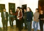 Opening of the exhibition of Zdzisław Beksiński's works in The Archdiocesan Museum in Wrocław, 4 March 1998