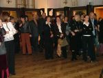 Vernissage of the exhibition accompanying the cycle of events called The World of Master Beksiński in Cracow Philharmonic, 23 October 2009