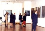 Vernissage of the exhibition of Zdzisław Beksinski in The Atlantes Gallery in Wałbrzych, 22 October 1999