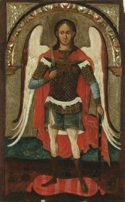 The archangel Michael, 1st half of the 17th c. Lipie