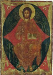 Christ Pantocrator, 2nd half of the 15th c., Nowosielce