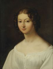 Portrait of Amelia Załuska form the Ogiński family, 19th c.
