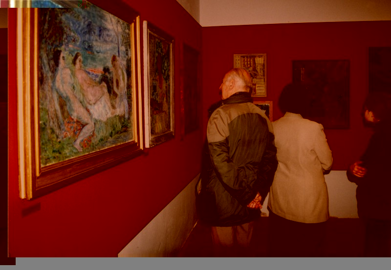 Vernissage of the exhibition of The COLOURISTS from the collection of The County Museum in Rzeszów, 2003